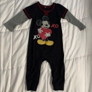 Baby boy Mickey Mouse romper set
